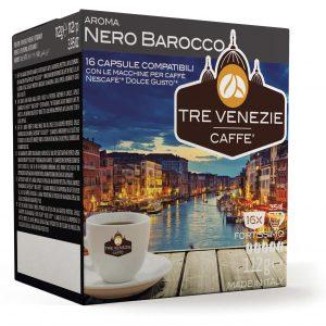 Aroma Nero Barocco  (Fortissimo)16 capsules (Dolce Gusto) (112g)