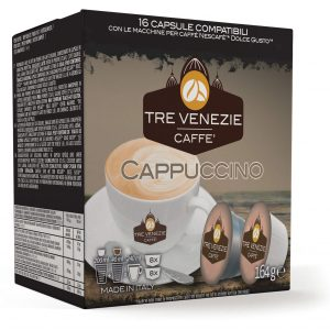 Cappuccino 16 capsules (Dolce Gusto)(164g)