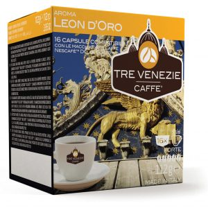 Aroma Leon D'Oro (Forte) 16 capsules (Dolce Gusto) (112g)